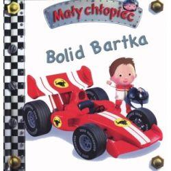 Bolid Bartka. Mały chłopiec