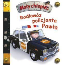 Radiowóz policjanta Pawła....
