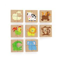 Zestaw puzzli...