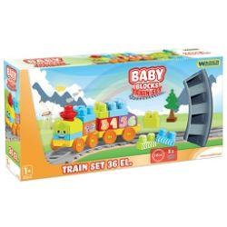 BABY BLOCKS RAILWAY 36 EL.