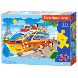 PUZZLE 30 EL. PARIS BOAT TOUR