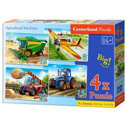 PUZZLE 4W1 AGRICULT. MACHINES