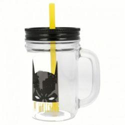 Batman - Słoik ze słomką...