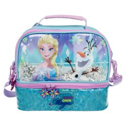 Frozen - Dwukomorowa torba...