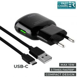 PURO Travel Fast Charger -...