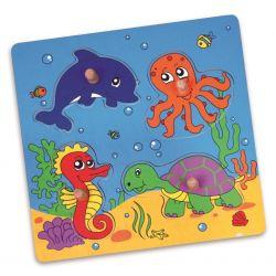 Puzzle niespodzianka - morze