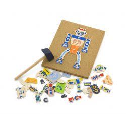 Korkowa przybijanka - robot