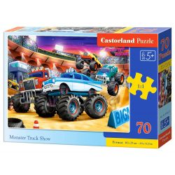 PUZZLE 70 MONSTER TRUCK SHOW