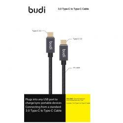 Budi - Kabel USB-C do USB-C...