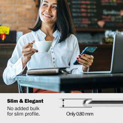 Crong Crystal Slim Cover - Etui Xiaomi Redmi Note 8 Pro (przezroczysty)