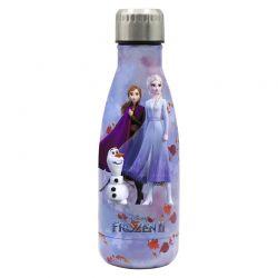 Disney FROZEN II - Butelka ze stali nierdzewnej 500 ml Kraina Lodu 2 (Pink)