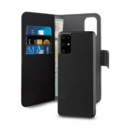 PURO Wallet Detachable - Etui 2w1 Huawei P40 (czarny)