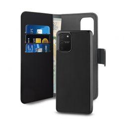 PURO Wallet Detachable - Etui 2w1 Samsung Galaxy S10 Lite (czarny)