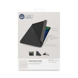 "Moshi VersaCover - Etui origami iPad Pro 11"" (2020/2018) z ładowaniem Apple Pencil (Charcoal Black)"