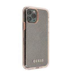 Guess Glitter Case - Etui iPhone 11 Pro Max (Pink)