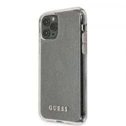 Guess Glitter Case - Etui iPhone 11 Pro Max (Silver)