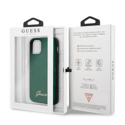 Guess Croco Case - Etui iPhone 11 Pro Max (Dark Green)