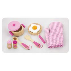 Zestaw śniadaniowy - pink