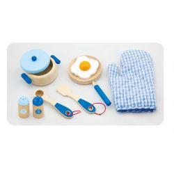 Zestaw śniadaniowy - blue