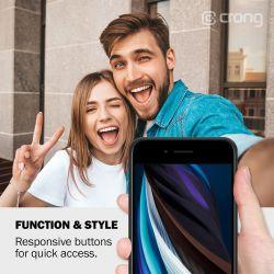 Crong Color Cover - Etui iPhone SE 2020 / 8 / 7 (piaskowy róż)