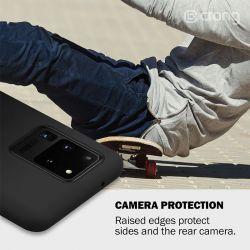 Crong Color Cover - Etui Samsung Galaxy S20 (czarny)