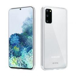 Crong Crystal Slim Cover - Etui Samsung Galaxy S20 (przezroczysty)