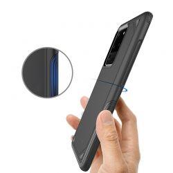 Crong Defender Case - Etui Samsung Galaxy S20+ (czarny)