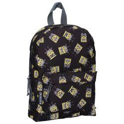 Spongebob - Plecak czarny (33 x 23 x 12 cm)
