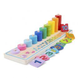 New Classic Toys - Drewniana zabawa naucz się liczyć