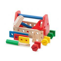 New Classic Toys - Drewniana skrzynka z narzędziami