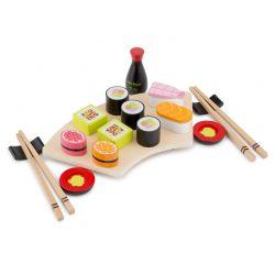 New Classic Toys - Drewniany zestaw do sushi