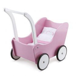 New Classic Toys - Wózek dla lalek różowy