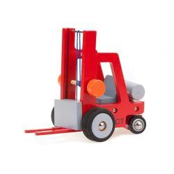 New Classic Toys - Drewniany wózek widłowy