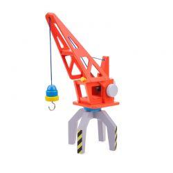 New Classic Toys - Drewniany dźwig kontenerowy