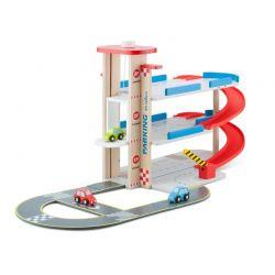New Classic Toys - Drewniany tor z autkami