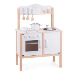 New Classic Toys - Drewniana kuchnia z akcesoriami