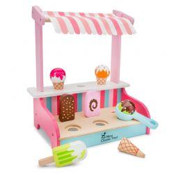 New Classic Toys - Drewniane stoisko z lodami