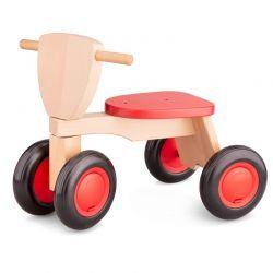 New Classic Toys - Drewniany rower balance czerwony