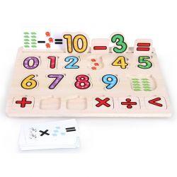 Top Bright - Drewniane puzzle równania