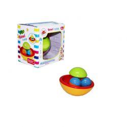 Playme - Grzechotka kula z 2 piłeczkami