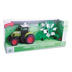 Playme - Traktor z przyczepą do siania