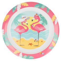 Talerzyk deserowy z flamingiem