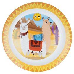 Talerzyk deserowy z lamą
