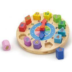 Viga Toys - Drewniana układanka geometryczne kształty