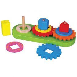 Viga Toys - Drewniana układanka kształty geometryczne