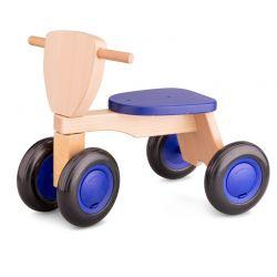 New Classic Toys - Drewniany rower balance niebieski
