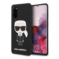 Karl Lagerfeld Fullbody Silicone Iconic - Etui Samsung Galaxy S20 (Black)