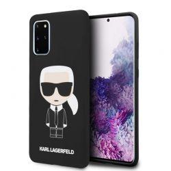 Karl Lagerfeld Fullbody Silicone Iconic - Etui Samsung Galaxy S20+ (Black)