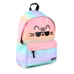 Pusheen - Plecak szkolny (Pusheen See Ya) (pastelowy)