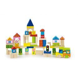Klocki 75 elementów - miasto